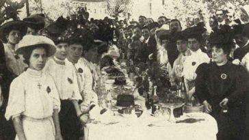 Students from the University of Bucharest Medical School visiting the Hamidiye C...