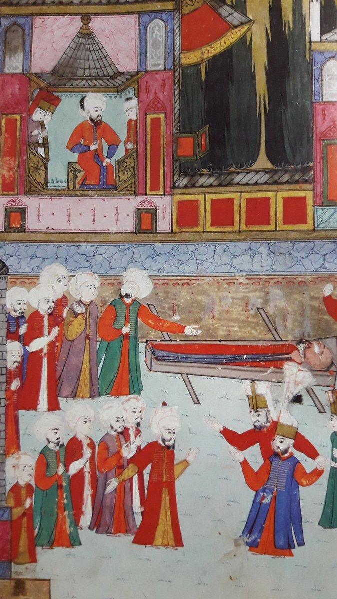 1582'deki Şehzade [3.] Mehmed'in sünnet düğününde, Yeniçeriler ile Sipahilerin k
