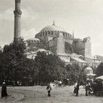 1908 Yılında Çekilmiş Bir Ayasofya Fotoğrafı
