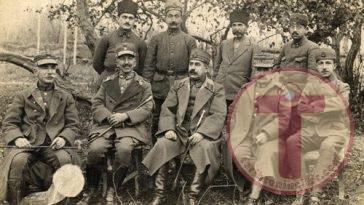 General Nikolaos Trikupis'in Teslim Olması
