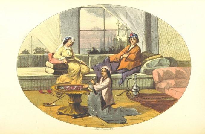 Interior of a House in Istanbul, 19th Century İstanbul'da Bir Evin İçi, 19. Yüzy...