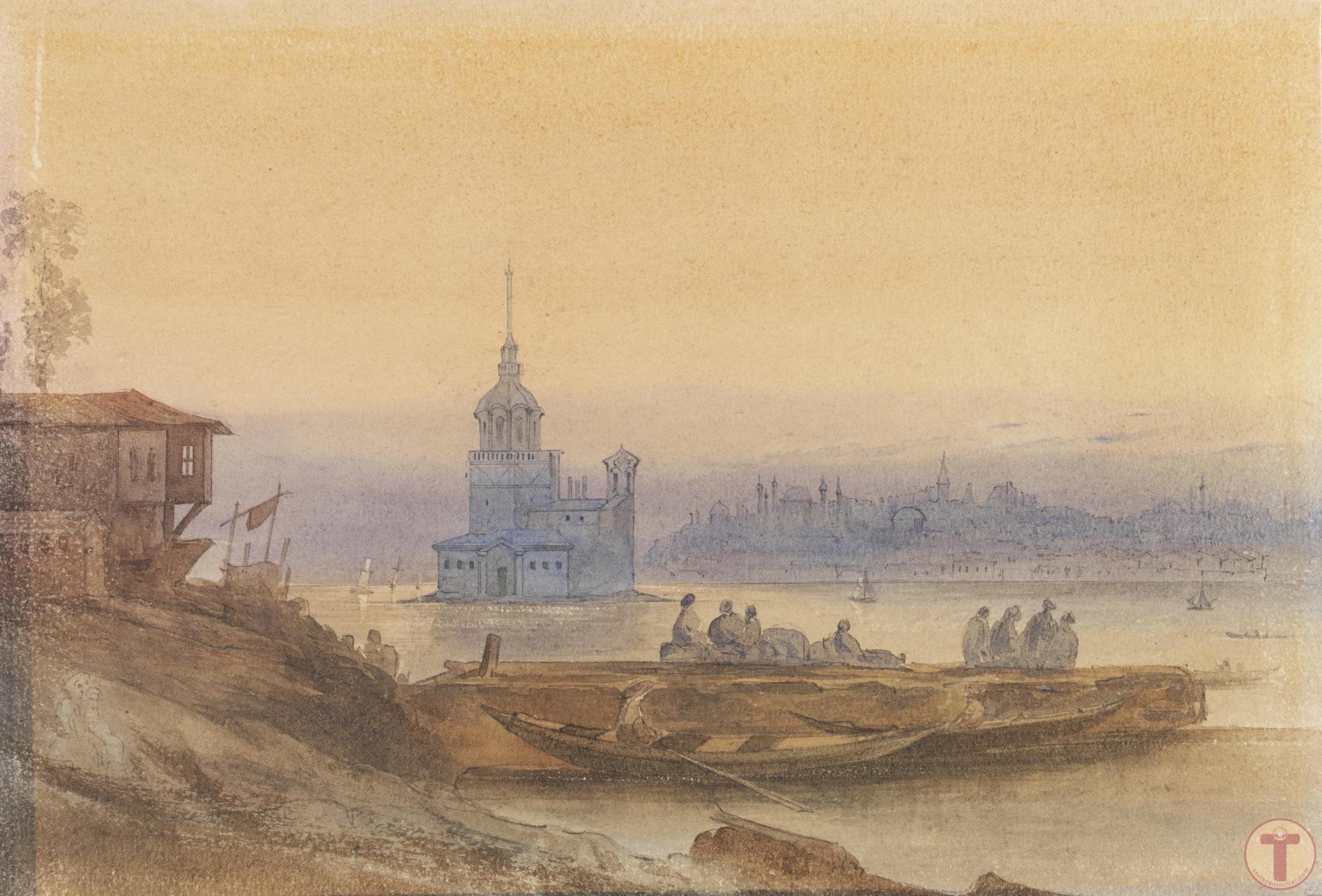 Konstantinopolis'Teki Leander Kulesi