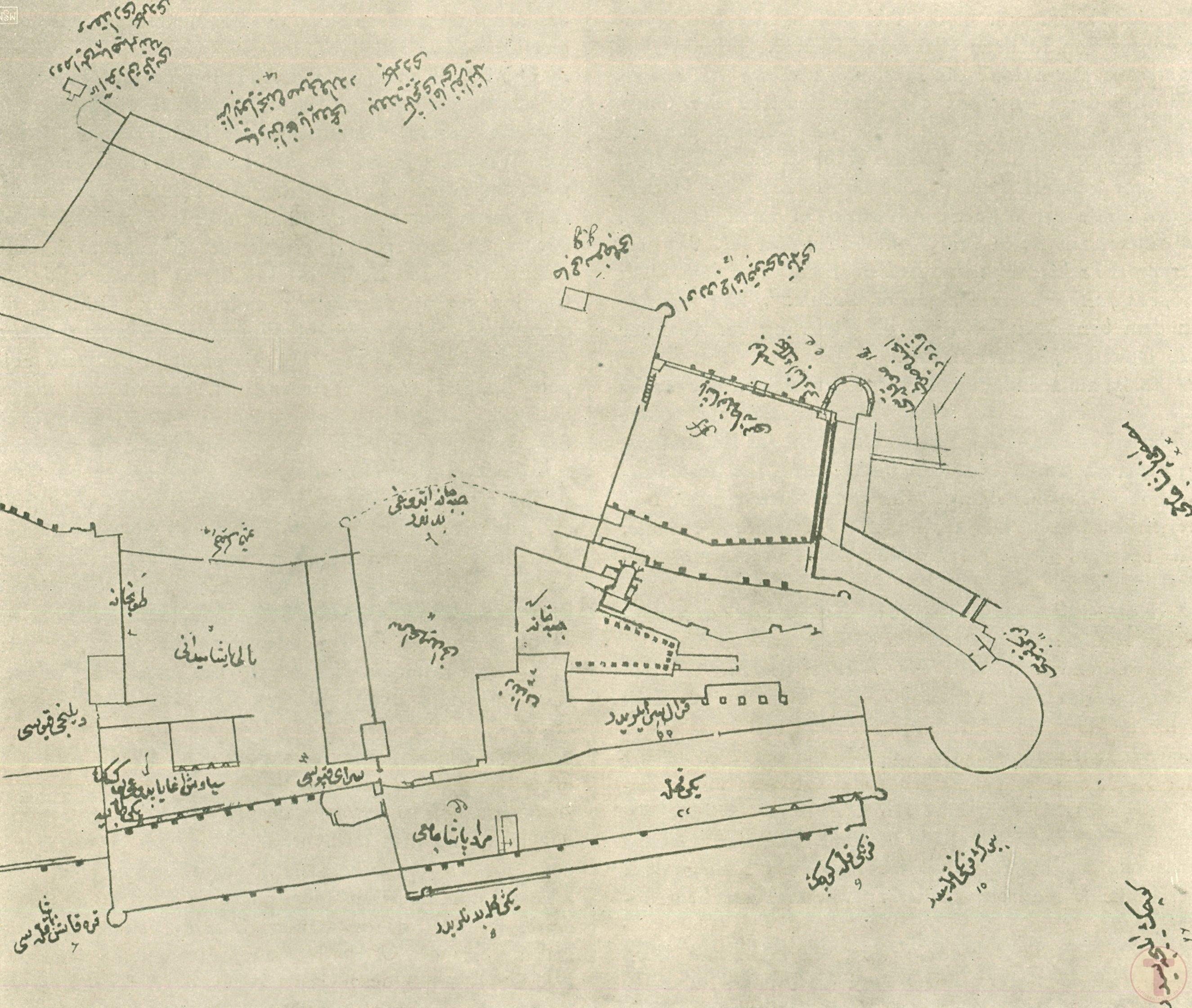 Bir Osmanlı Kale Planı