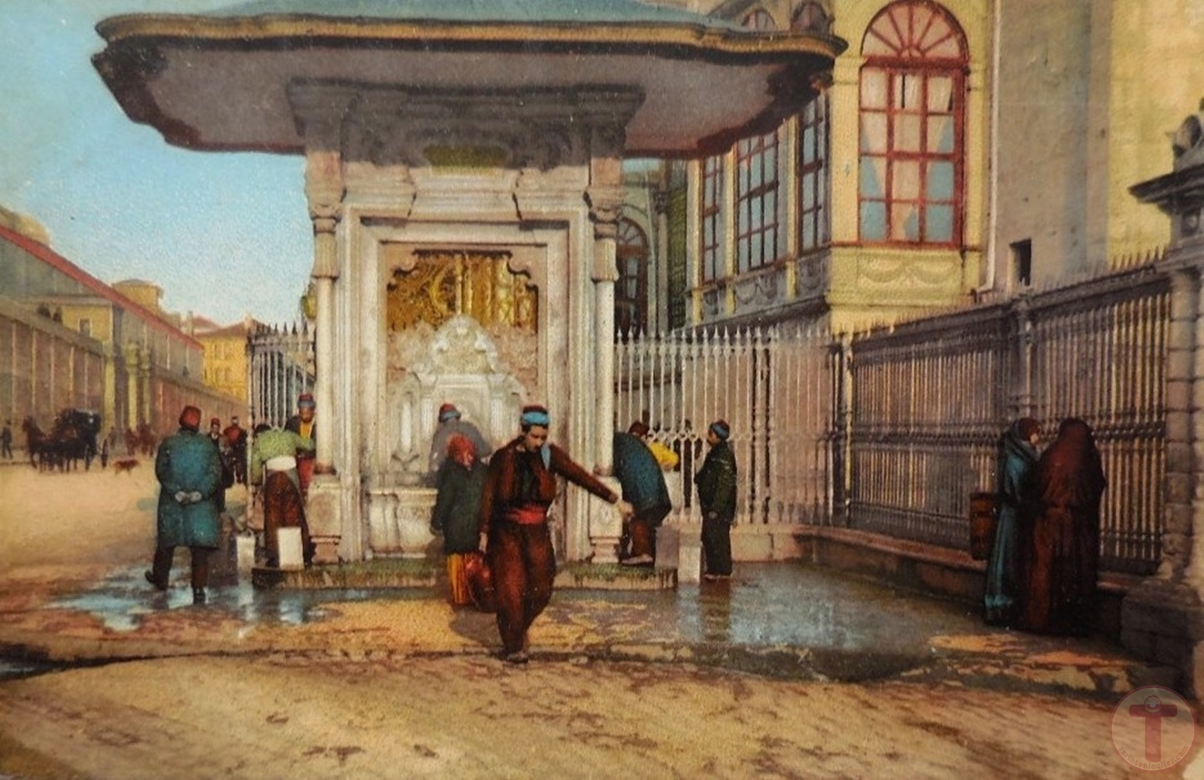 İstanbul'Da Bir Osmanlı Çeşmesi