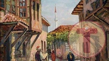 Bir Osmanlı Sokak Manzarası