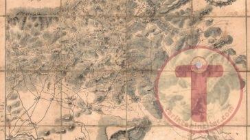 Bağdat'Tan Musul'A Osmanlı Haritası