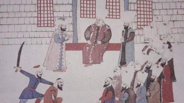 Vezire Rüşvet Teklif Eden Bir Elçinin İdamı, 16. Yüzyıl  Execution of an Ambassa...
