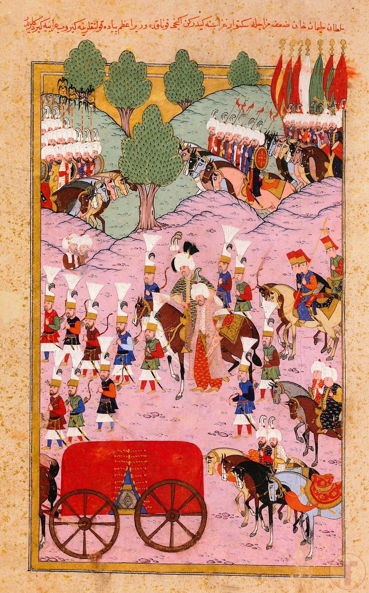 Kanuni Sultan Süleyman'ın Sigetvar Seferine Çıkışı
