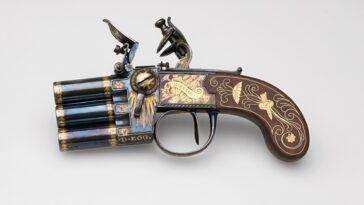 Napolyon'un üç odacıklı kilit tabancası